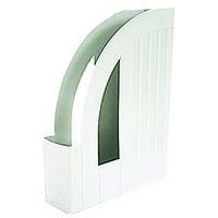 Лоток Арника для бумаг вертикальный, серый (80520)