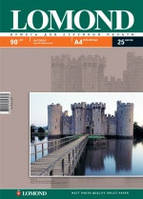Фотобумага Lomond матовая ( формат А4 плотность 90 г/м2 односторонняя матовая ) 25 листов