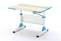 Детская парта растишка стол трансформер Goodwin К2 blue (Comf-Pro)
