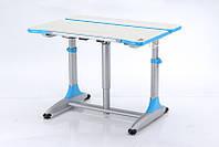 Детская парта растишка стол трансформер Goodwin К4 blue (Comf-Pro)