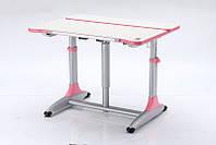Детская парта растишка стол трансформер Goodwin К4 pink (Comf-Pro)