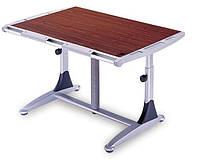 Комплект Детская парта растишка стол трансформер Goodwin KD-7 кальвадос-серый (Comf-Pro) и кресло KY-318