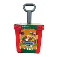 Тележка игрушечная Супермаркет с продуктами, 24 предмета, 661-92