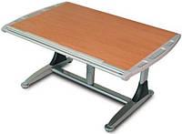 Комплект Детская парта растишка стол трансформер Goodwin KD-7 бук-серый (Comf-Pro) и кресло KY-318