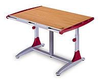 Комплект Детская парта растишка стол трансформер Goodwin KD-7 бук-красный (Comf-Pro) и кресло KY-318