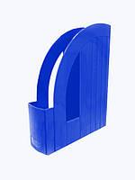 Лоток Арника для бумаг вертикальный, синий (80523)