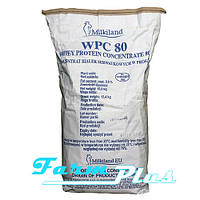 Концентрат сывороточного белка WPC 80 Milkiland Ostrowia 15 кг