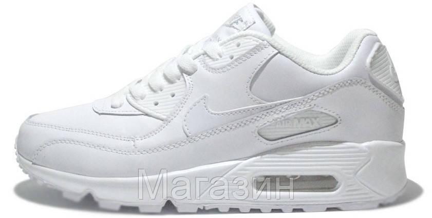 a9d9d01f0d4c Женские Кроссовки Nike Air Max 90 Leather