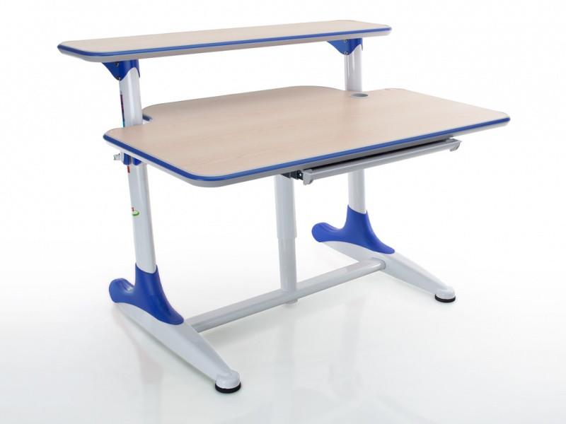 Детская парта растишка стол трансформер Mealux Platon BD-205 WB maple