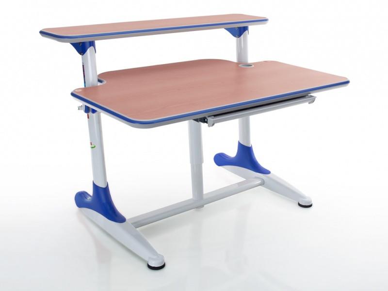 Детская парта растишка стол трансформер Mealux Platon BD-205 WB beech