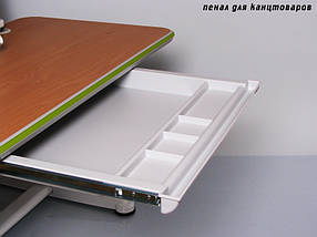 Детская парта растишка стол трансформер Mealux Platon BD-205 WB beech, фото 2