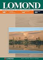Фотобумага Lomond матовая ( формат А4 плотность 140 г/м2 односторонняя матовая ) 100 листов