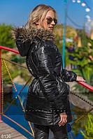 Модная женская демисезонная куртка С капюшоном