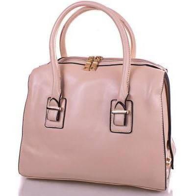Женская модная сумка из качественного кожезаменителя ANNA&LI (АННА И ЛИ) TUP14206-12-1 (бежевый)
