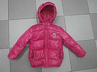 Детская курточка утепленная холлофайбером. 110р.