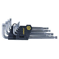 Ключи Sigma torx 9шт T10-T50мм CrV длинные