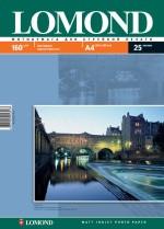 Фотопапір Lomond матовий ( формат А4 щільність 160 г/м2 одностороння матова ) 25 аркушів
