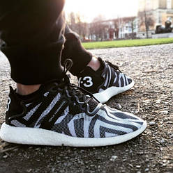 """Кроссовки Adidas Y-3 Yohji Boost & Qasa High """"Black"""""""