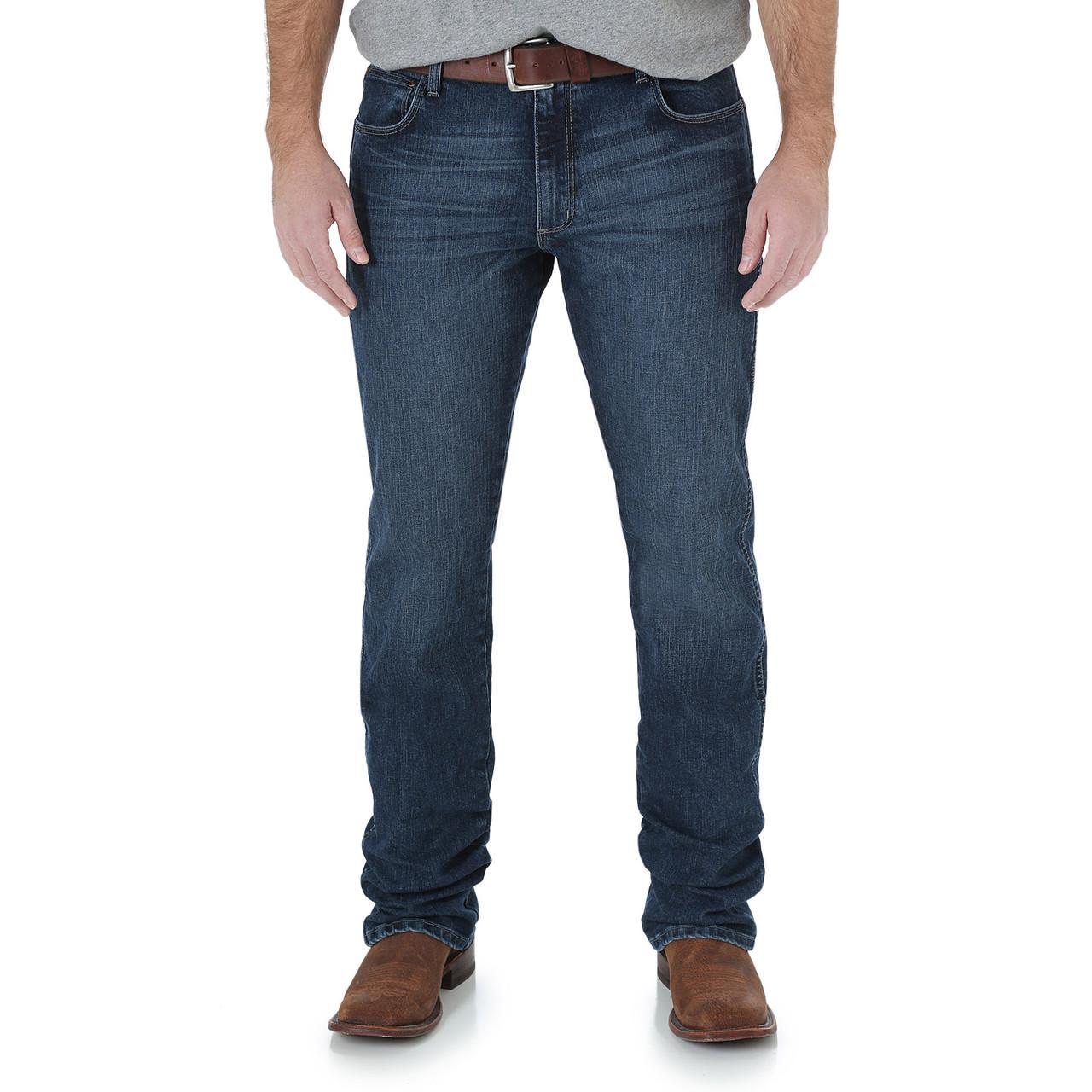 Джинсы Wrangler Retro Slim Fit Straight Leg, Amarillo, 31W32L, 88MWZAM