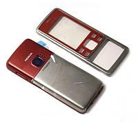 Корпус Nokia 6300 красный High Copy