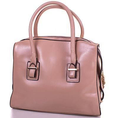Женская стильная сумка из качественного кожезаменителя ANNA&LI (АННА И ЛИ) TUP14206-12  (бежевый)