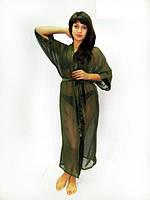 Халат шифоновый длинный, фото 1