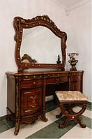 Спальня Париж (орех) (раскомплектовываем) Туалетный столик с зеркалом