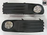 Противотуманные фары Volkswagen Transporter T5 (комплект - 2шт) /LED