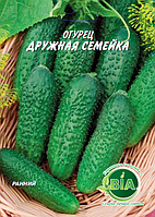 Огурец Дружная семейка (5 г) (в упаковке 10 шт)