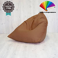 "Кресло-мешок SanchoBag ""ПИРАМИДА"" 90х90х90см (ткань: велюр)"