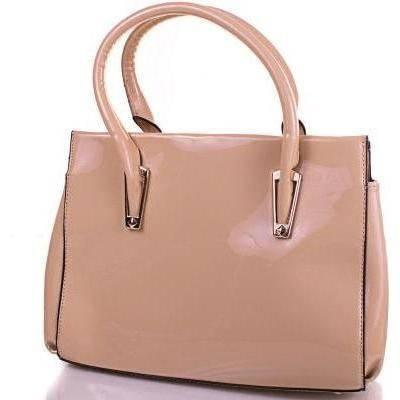 Неотразимая женская сумка из качественного кожезаменителя ANNA&LI (АННА И ЛИ) TUP14304-12 (бежевый)