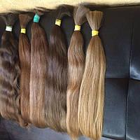 Натуральные славянские волосы детские светлые окрашенные 45-90 см