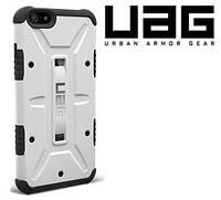 Чехол (бампер) UAG USA для iPhone 4/4S ( + закаленное стекло) White