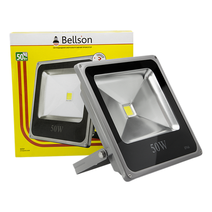 Светодиодный прожектор Slim 50W Bellson, фото 2
