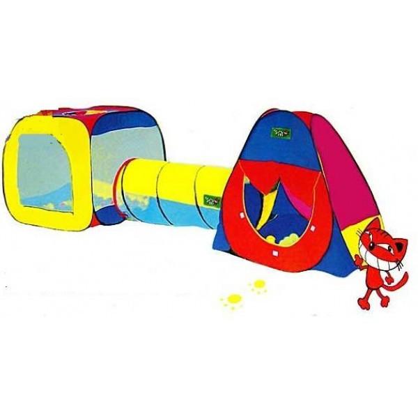 Палатки детские с тоннелем