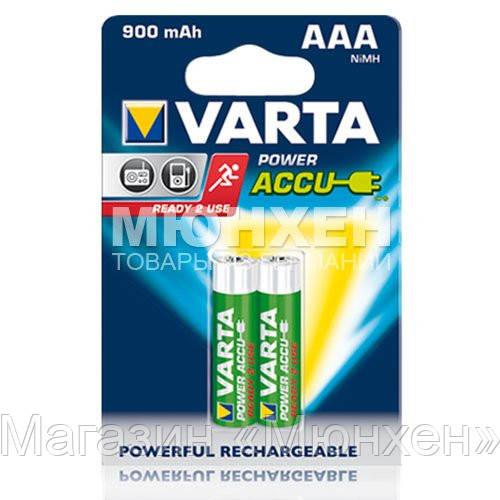 Аккумулятор Varta Power accus AAA 900 mAh 56713 x02 - Магазин «Мюнхен» в Харькове