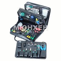 Набор инструментов в кейсе Pro'sKit 1PK-9382B, для монтажа телекоммуникационных сетей Набор инструментов в кейсе Pro'sKit 1PK-9382B, для монтажа