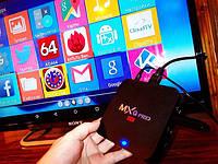 Приставка смарт MX PRO Q 4K TV BOX Internet TV
