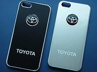 Чехлы для iPhone 5 5S Toyota металлические, фото 1