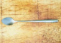 """Ложка чайная с длинной ручкой """"Гладь"""" сталь 18/10, ложка сувенир, ложка подарочная"""