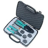 Набор инструментов для обслуживания коаксиального кабеля Pro'sKit 6PK-330K, HDTV/BNC/TNC. Belden: 1855A/1865A/1505A/1505F/1694A/1694F