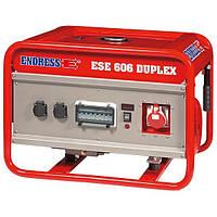Бензогенератор Endress ESE 606 DHG-GT ES DUPLEX с двигателем Honda GX390
