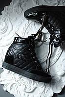 Сникерсы стильные черные