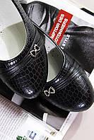 Туфли детские с бантиком