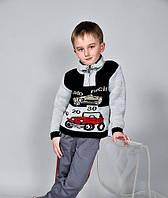"""Детский свитер """"Машинка"""""""