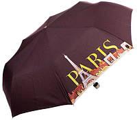 Зонт AIRTON 3512-3709 шоколад, механика, 3 сложения