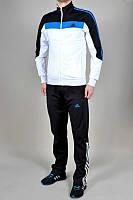 Спортивный костюм Adidas,белый верх, черный низ, ф166