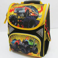 Ранец школьный ортопедический детский Машины JO-1610