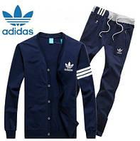 Спортивный костюм Adidas, темно-синий костюм, ф319