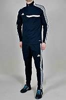 Спортивный костюм Adidas, ченый костюм, с лампасами, ф318
